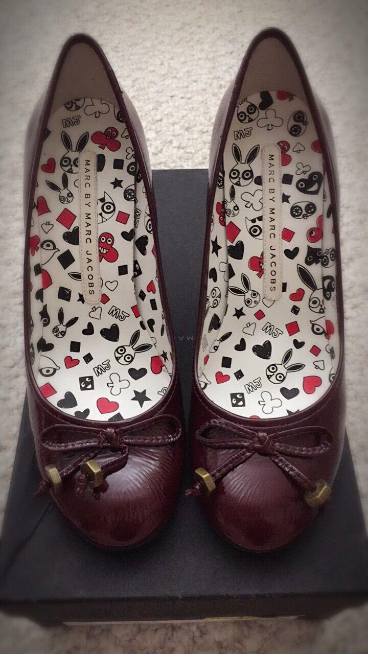 Marc by Marc Jacobs Leather schuhe Heels Pump - - - Größe 37 6abc1d