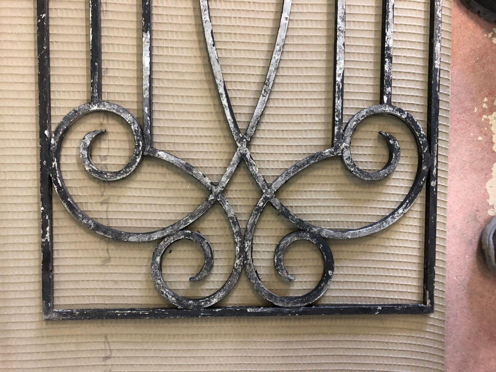 Altes Tür Fenster Gitter Eisen 1473x505x10mm