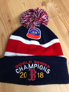 3f8c93573f27a Boston Red Sox World Series Champions Blue Winter Hat Pom Pom blue ...
