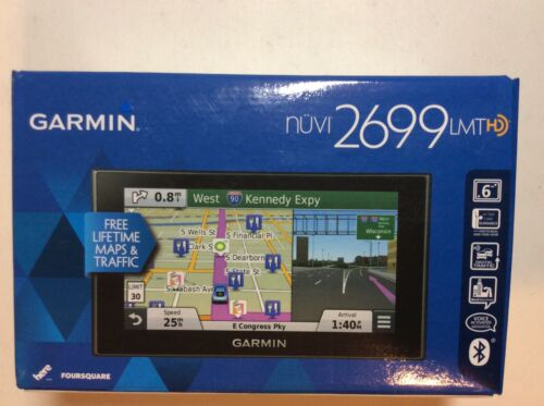 Garmin nuvi 2699 LMTHD GPS System see details for what/'s included