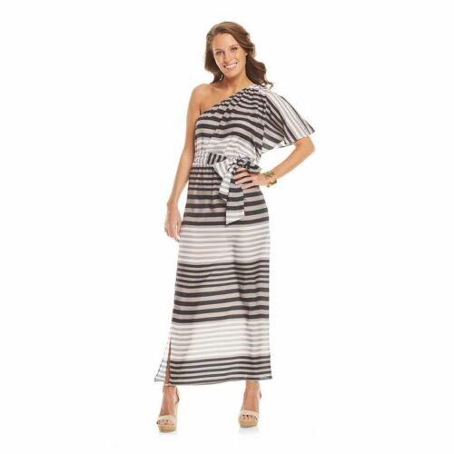 One shoulder maxi dress ebay