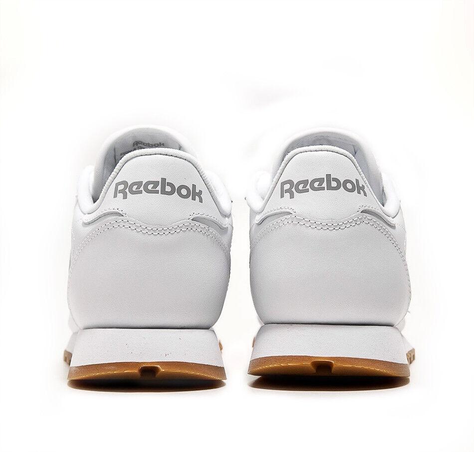 REEBOK REEBOK REEBOK CLASSIC LEATHER womens white gum 49803 NEU 9813d3