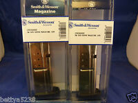 Two Smith & Wesson Magazines Sigma 9mm Sd9 Sd9ve Mag 10 Round Sigma Clip