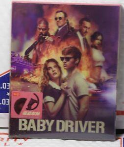 Details About New Baby Driver Blu Ray Full Lenti Slip Steelbook Hdzeta Region Free Rare