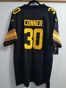size 40 4a700 81be5 Details about James Conner Pittsburgh Steelers #30 jersey COLOR RUSH!!  Brand NEW! DMR PATCH XL