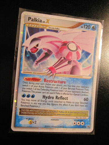 PL Pokemon PALKIA LV.X Card BLACK STAR PROMO DP18 Set Ultra Rare Holo PLAYED