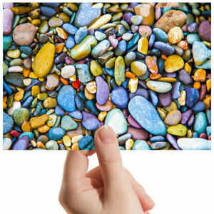 Colourful-Rocks-Stones-Art-Small-Photograph-6-034-x-4-034-Art-Print-Photo-Gift-2044