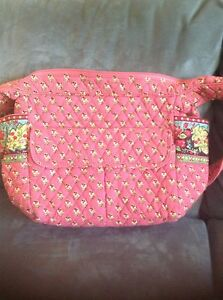 8457166c4f5 VERA BRADLEY PINK PANSY CARRY ALL BAG - BRAND NEW WITHOUT TAGS   eBay