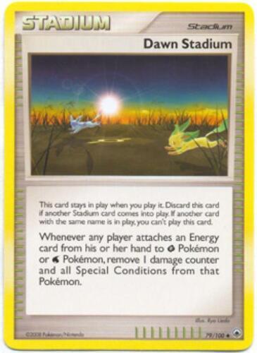 Dawn Stadium U pok-MD-079 4x Pokemon D/&P Majestic Dawn Card # 79
