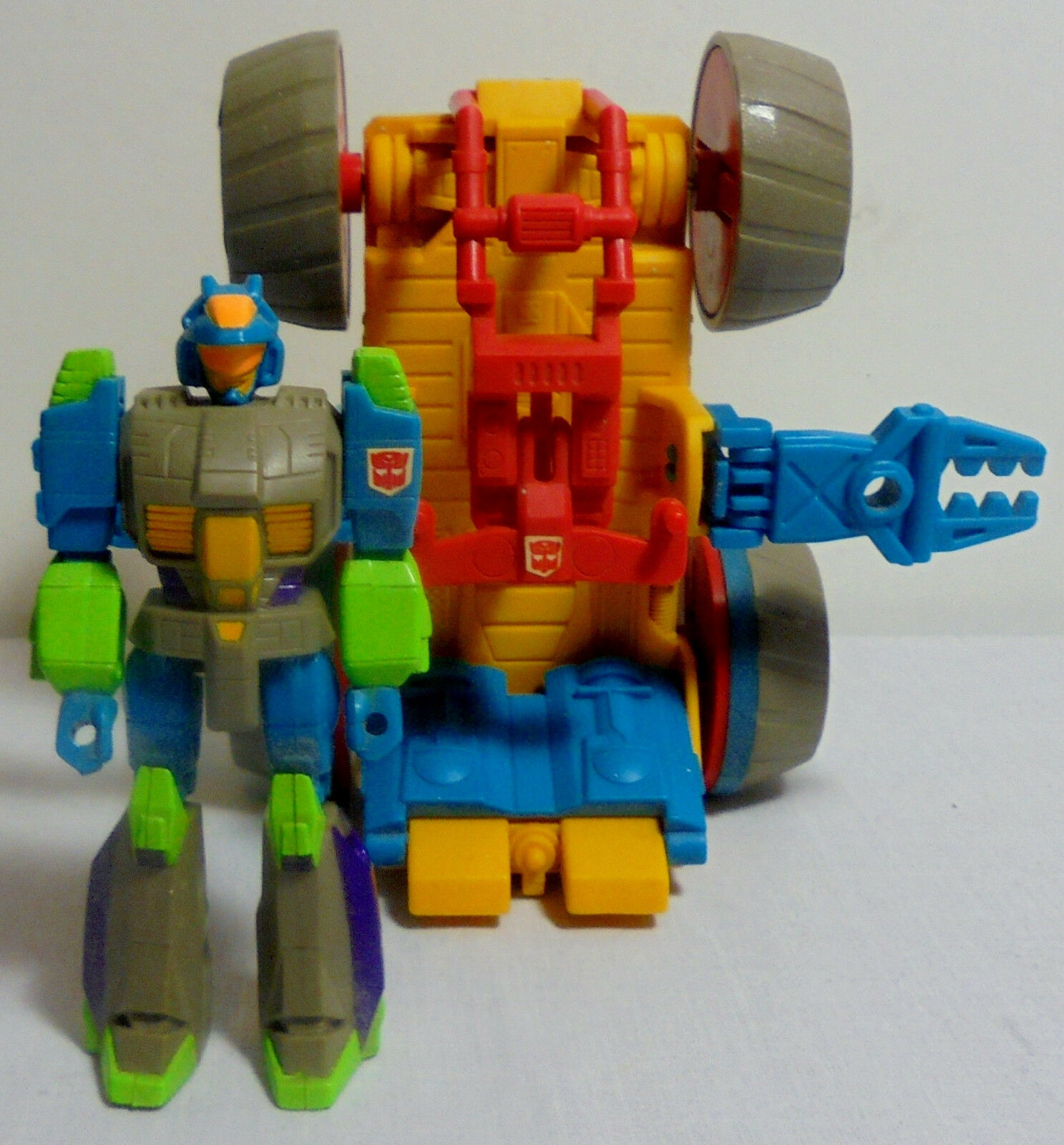 TRANSFORMERS G1 ACTION MASTERS RUMBLER INCOMPLETE EUROPEAN FIGURE ROBOT VEHICLE