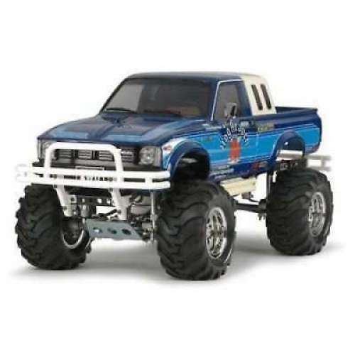 Tamiya 1 10 Electric RC Assembly Kit Toyota Hilux 4 WD High Lift (RN 36) (58519)