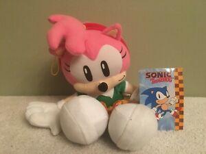 Sonic The Hedgehog Amy Rose Great Eastern Classic Plush Sega Toy New Tagged Ebay