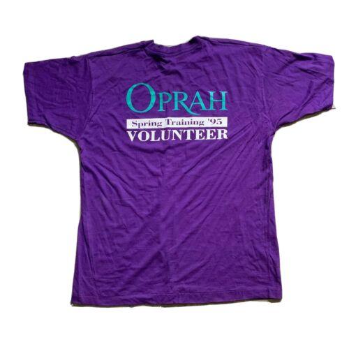 VTG The Oprah Winfrey Show Volunteer T-Shirt Size