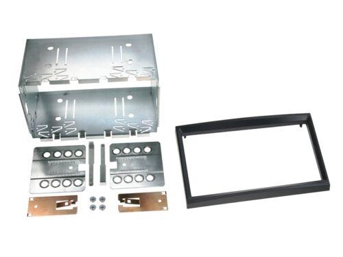 Peugeot partner a partir de 08 2-din radio del coche Kit de integracion adaptador cable radio diafragma