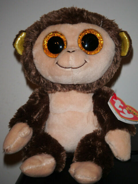 W-F-L Ty Beanie Boos Glubschi Rarities I Dog Cat Monkey Selection Stuffed Toy