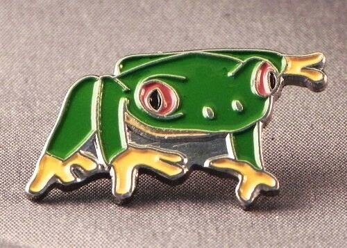 Metal Enamel Pin Badge Brooch Frog Tree Frog Frogs