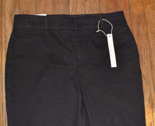 Gloria Vanderbilt Khaki Unltd Charlene Comfort Fit Ultra Twill Brown Slacks Pant