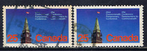 Canada #740 1977 25 cent 23rd Commonwealth Parliamentary Conference DULL FL Used