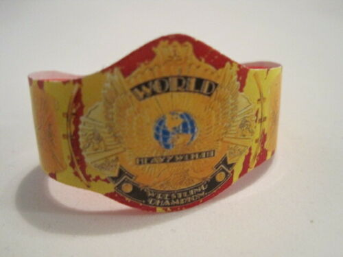 WWE Hulk Hogan Champion Titre Personnalisé Figure Belt for Action Figures WWF NXT aew