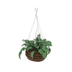 Dollhouse Miniature Hanging Green Ivy Plants Garden Patio Yard Accessory
