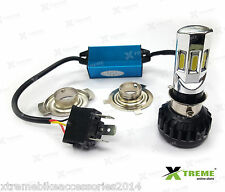 6 LED 35w M02E-B HID Head Light 3500 lm For TVS Scooty Pep