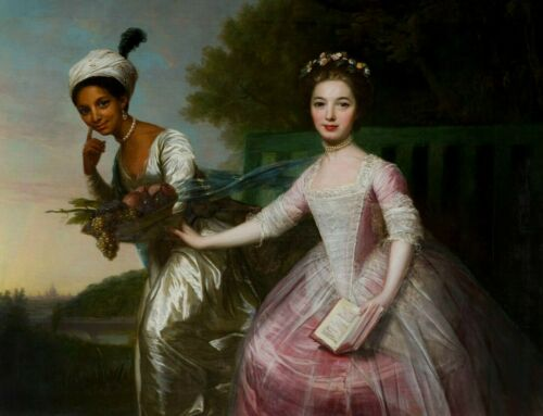 Dido Belle Lindsay /& Lady Murray Stretched Canvas or Print Poster Home Wall Art