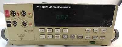 FLUKE 45 Dual Display Digital Multimeter~For PARTS//REPAIR