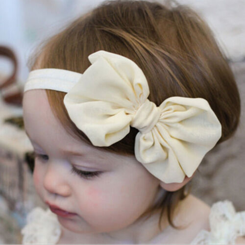 14PCS Headband Kids Girl Baby Toddler Bow Flower Hair Band AccessoriesHeadwearPD