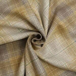 pais pur 100 laine cr ateur vert sauge beige gris tartan papier peint tissu ebay. Black Bedroom Furniture Sets. Home Design Ideas
