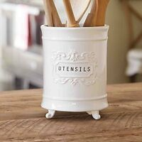 Circa Utensil Holder By Mud Pie, New, Free Shipping on sale