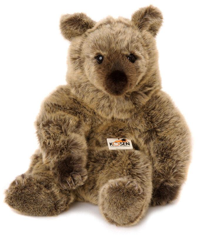 Grizzly Bear 'Julia' collectable plush soft toy - Kosen   Kösen - 4606 - 51cm