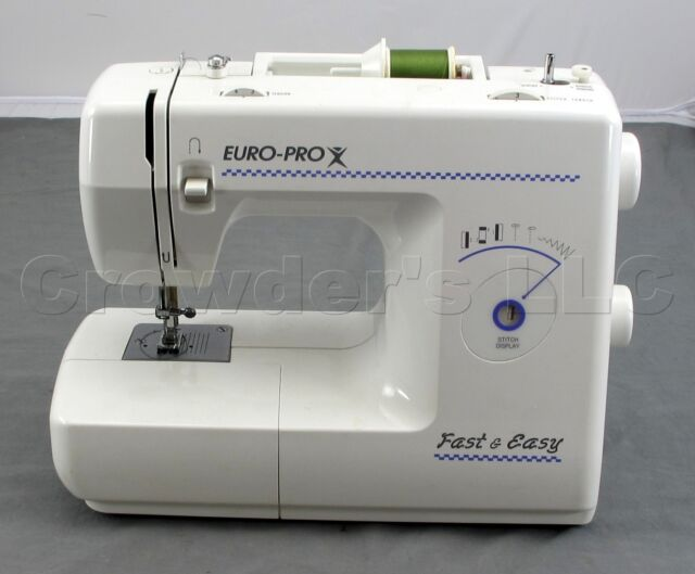 EuroPro 40 Mechanical Sewing Machine EBay New Ebay White Sewing Machine