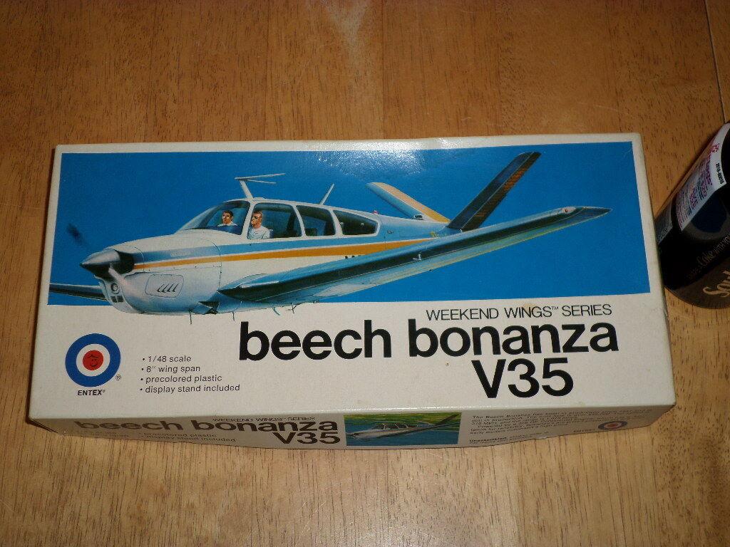 BEECH BONANZA V35 Airplan, Plastic modellllerler Kit, skala 1  48