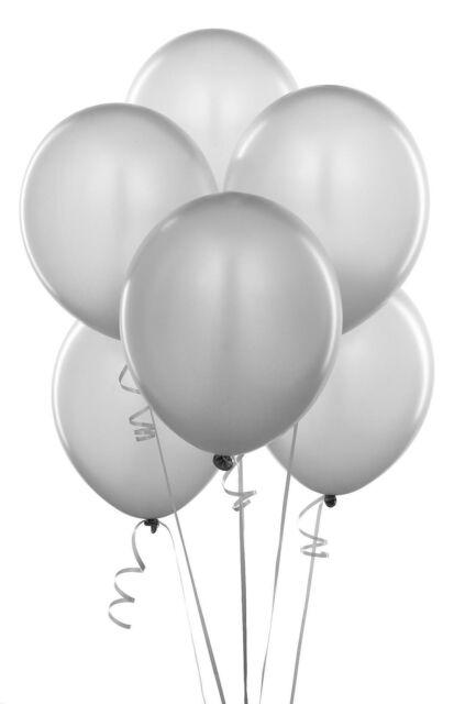 argent Ballons 10-100 Metalique nacré 10