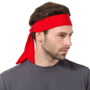 Unisex Man Tennis Solid Gym Workout Cycling Magic Hair Headband ... ae170c050442