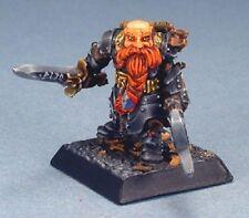 Durgam Dwarf Hero Reaper Miniatures Warlord Dwarves Fighter Ranger Melee Swords
