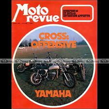 MOTO REVUE N°2106 ★ YAMAHA 250 360 MX ★ MONTESA COTA 49 SORPION 50 APPIETTO 1973