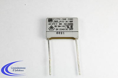 a23 100nf, µ1, el UF, condensador, entstörkondensator 1x 0,1µf 275v ~ mkt//sh b81133 x2