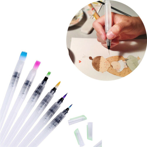 Calligraphy Practice Cake Decorating Watercolor Brush Refillable Ink Pen
