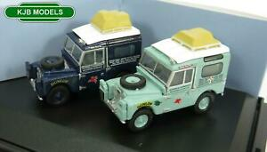 BNIB-OO-GAUGE-OXFORD-1-76-76SET64-2-Piece-Land-Rover-Set-First-Overland