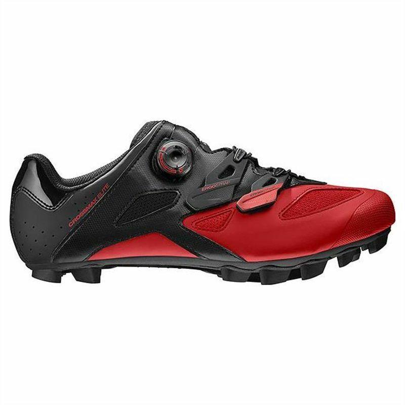Mavic Crossmax Elite Negro-Rojo Zapatos