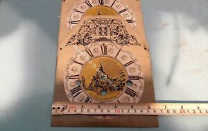 NEW-OLD-STOCK-TABLE-CLOCK-FACE-FOR-WARMINK-CLOCK-WITH-CHAPTER-RING