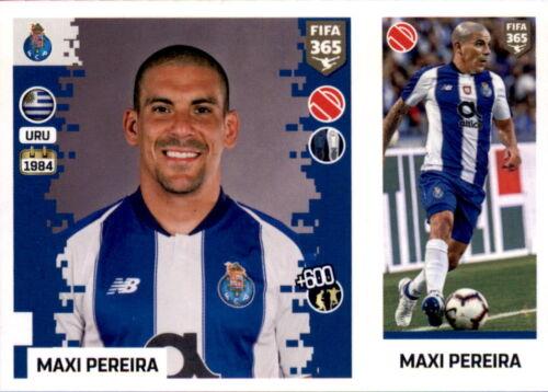 Sticker 273 a//b Panini FIFA365 2019 FC Porto Maxi Pereira