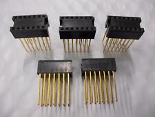 New 28 Pin IC Socket *WARRANTY* ICO-286-S8AT Lot of 14pc
