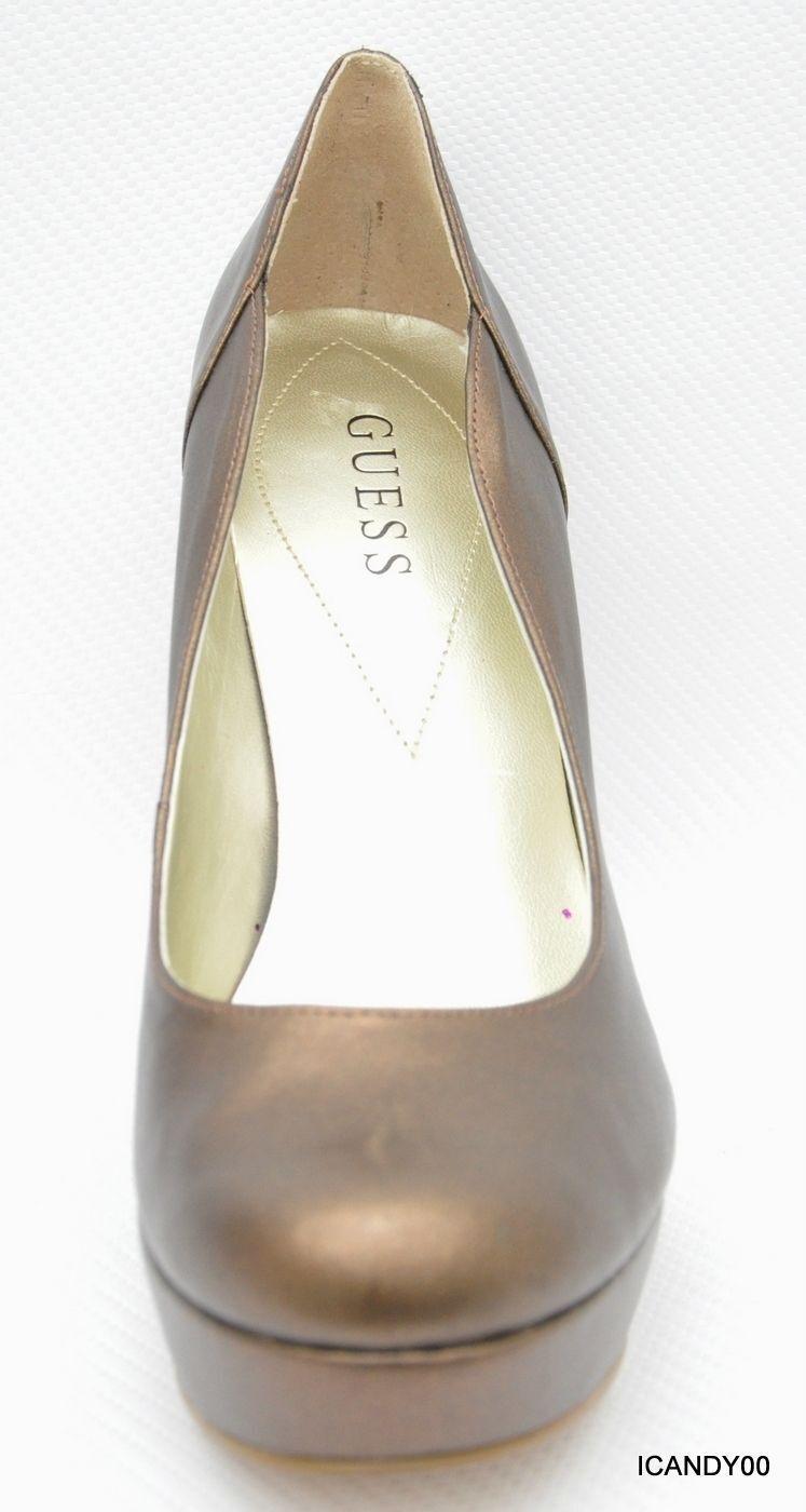 New Guess SANDREA schuhe Round Toe Platform Pump Heel schuhe SANDREA Bronze 10 5251fc