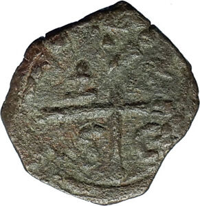 CRUSADERS of Antioch Tancred Ancient 1101AD Byzantine Time Coin St Peter i66158