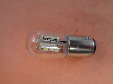 1 Clear 20 LED Light Bulb for Bernina 718, 812, 841 and others 110v Push In Type