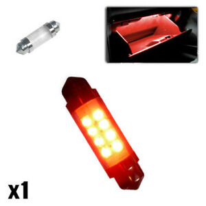 For BMW 3 Series E46 239 C5W Red Interior Boot Bulb LED High Power Light Upgrade