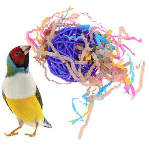 Papagei-spielzeug-vogel-glocke-ball-fuer-sittich-nymphensittich-kauen-spass-kae-HV