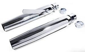 Auspuff-Schalldaempfer-Endtopf-Custom-Straight-Cut-fuer-Harley-Davidson-Universal